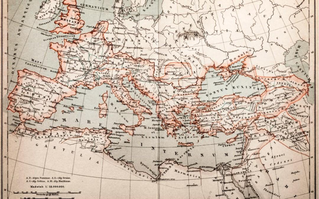 La herencia romana en el trazado de la infraestructura del gas en España